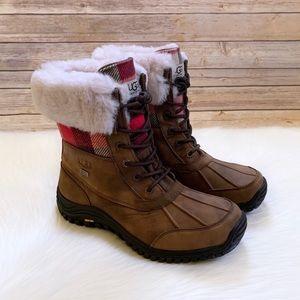 UGG Adirondack Boot II Plaid Waterproof Boots